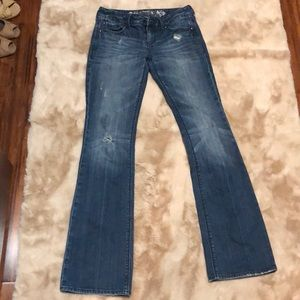 Express boot cut jeans 0R